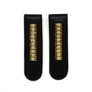 Boot Clips Gold & Crystal