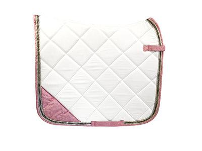 Dekje Classy White Pink
